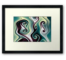 Gnarly Byways No. 5 Framed Print