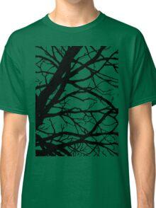 Dark Pink Lavender Tree Classic T-Shirt