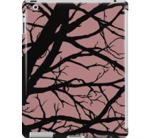 Dark Pink Lavender Tree iPad Case/Skin