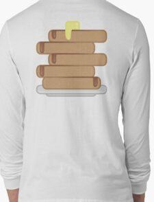 Buttery Breakfast Pancakes Long Sleeve T-Shirt
