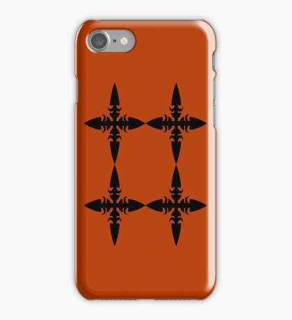 Throwing Star #2 iPhone Case/Skin