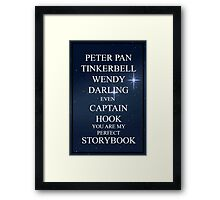 Perfect Storybook Framed Print