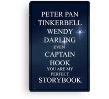 Perfect Storybook Canvas Print