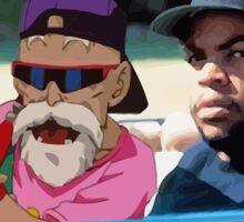 Ice Cube x Master Roshi Sticker