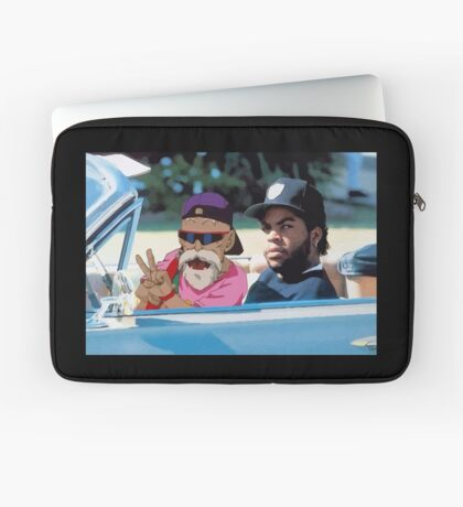 Ice Cube x Master Roshi Laptop Sleeve