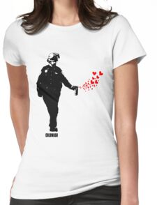 SPRAY LOVE Womens Fitted T-Shirt