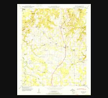 USGS TOPO Map Alabama AL Hatton 304125 1951 24000 Unisex T-Shirt