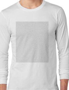 Jurassic Park Script Long Sleeve T-Shirt