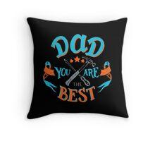 Best Dad Throw Pillow