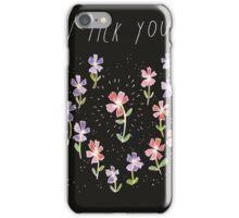 I Pick You iPhone Case/Skin