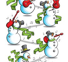 That's 'Snow Way to Rock and Roll by Paul-M-W
