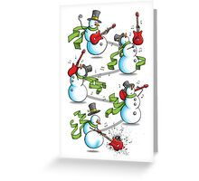 That's 'Snow Way to Rock and Roll Greeting Card