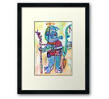 The Elephant Wanderer  Framed Print