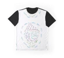 Comet Mandala Graphic T-Shirt