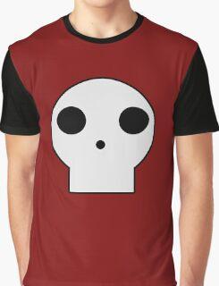 Skull Cartoon Graphic T-Shirt