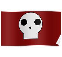 Skull Cartoon Poster