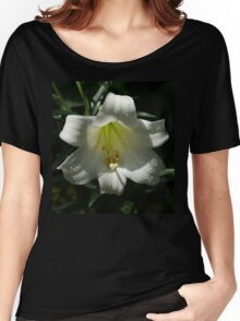 Of Water Pearls and Easter Lilies Women's Relaxed Fit T-Shirt