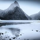 Milford Sound Rainy Day by Jill Fisher