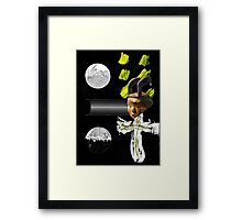 The Weight of Choice Framed Print