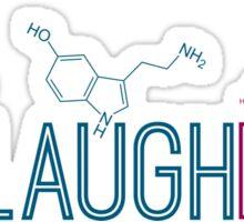 Live Laugh Love Molecules 2 Sticker