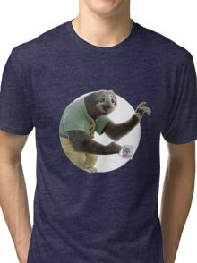Flash The Sloth Tri-blend T-Shirt