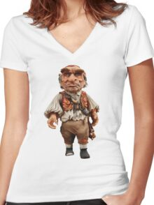 HOGGLE LABYRINTH  Women's Fitted V-Neck T-Shirt