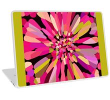 Pink Confetti Flower Laptop Skin