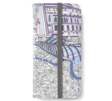 London Composition 4 iPhone Wallet/Case/Skin