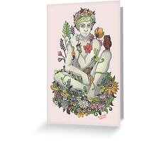 Nymph Greeting Card