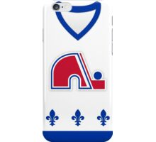 Quebec Nordiques Home Jersey iPhone Case/Skin