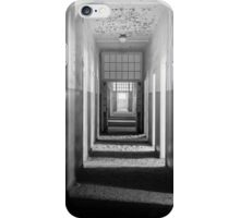 Ghostly Hospital Corridor iPhone Case/Skin