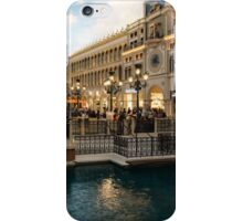 Magnificent Shopping Destination - Saint Marks Square at the Venetian Grand Canal Shoppes iPhone Case/Skin