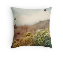 Meadow of Wildflowers Throw Pillow