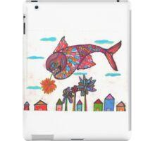 Flying Fish Fantasies  iPad Case/Skin