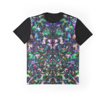 Colourful, groovy psychedelic kaleidoscope Graphic T-Shirt