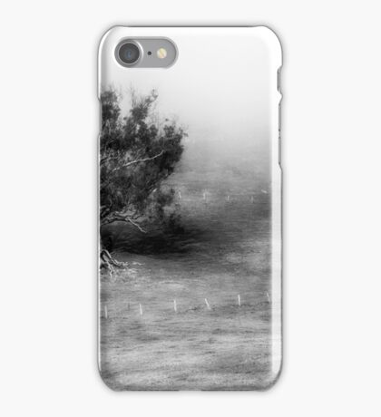 Tree in Early Morning Mist iPhone Case/Skin