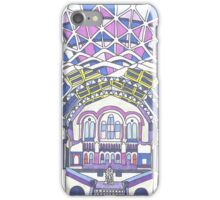 London Composition 1 iPhone Case/Skin