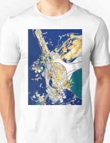 Musical Blues  T-Shirt