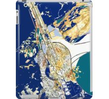 Musical Blues  iPad Case/Skin