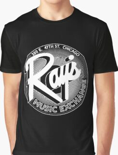 Ray's Music Exchange - 3D Any Colour Variant Graphic T-Shirt