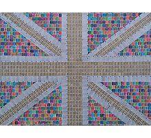 Multicoloured Union Jack Photographic Print