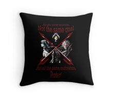 No chill, just protect Throw Pillow