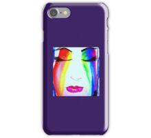 Rainbow face iPhone Case/Skin