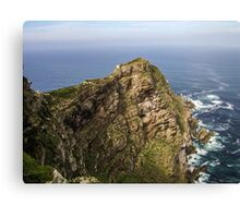 Cape Point Mountain, South Africa. Canvas Print
