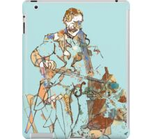 Cello in Blue  iPad Case/Skin