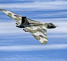 "Avro Vulcan B2  XH558 ""Spirit of Great Britain"" by Andrew Harker"