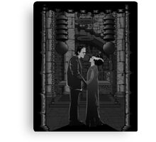 The monster's bride. Canvas Print