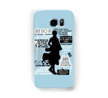 Gintama - Sakata Gintoki Quotes Samsung Galaxy Case/Skin