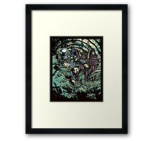 Welcome to the jungle. Framed Print