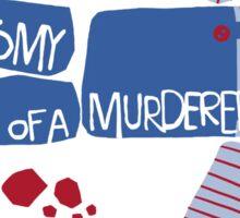Anatomy of Chucky Sticker
